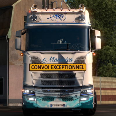 Scania | transport de bateaux