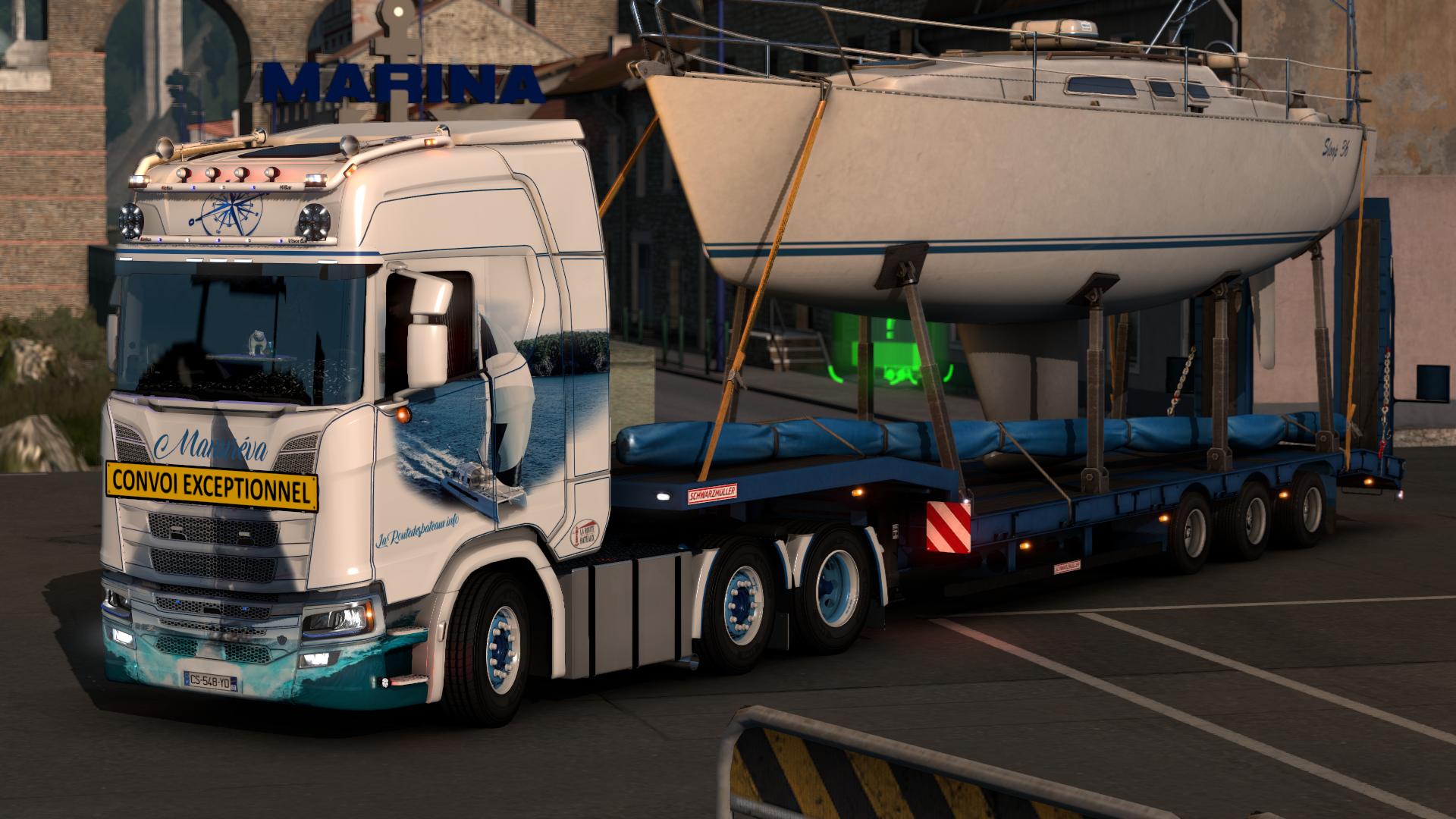 Transport voilier 1