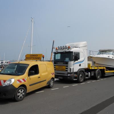 Transports de bateaux par la route | Exceptionnels & conventionnels
