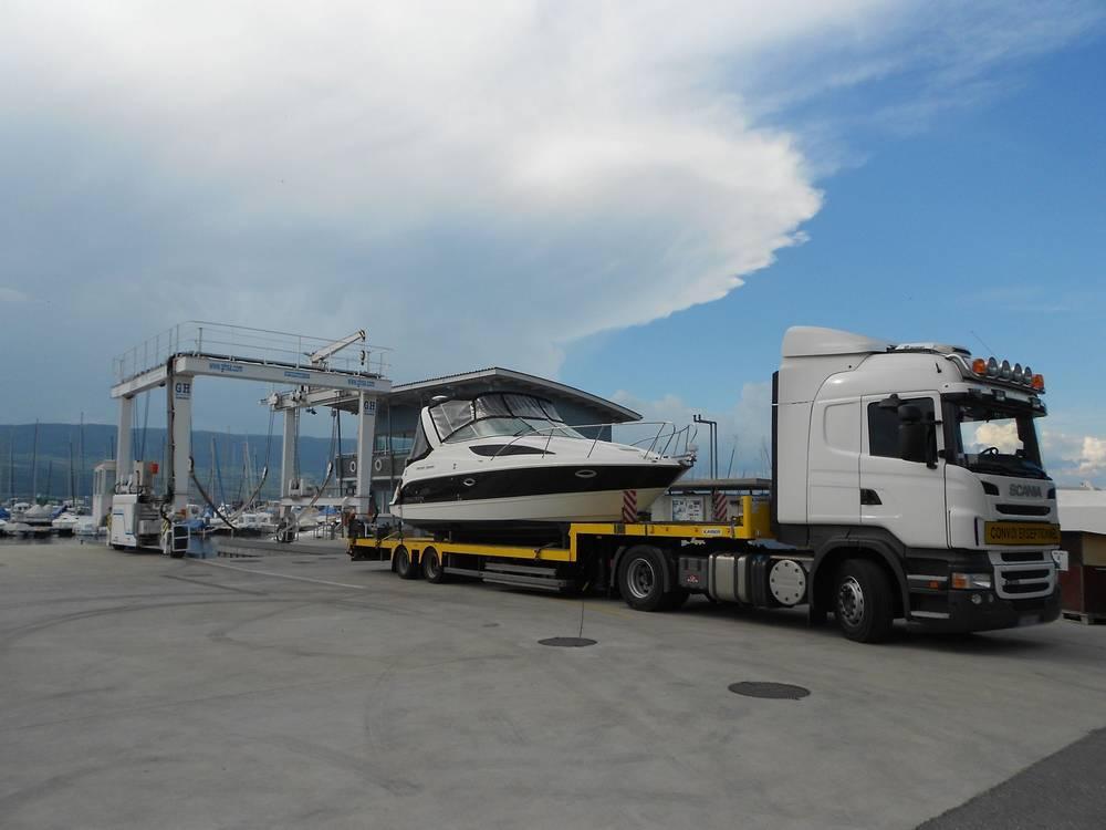 Transport bateau suisse