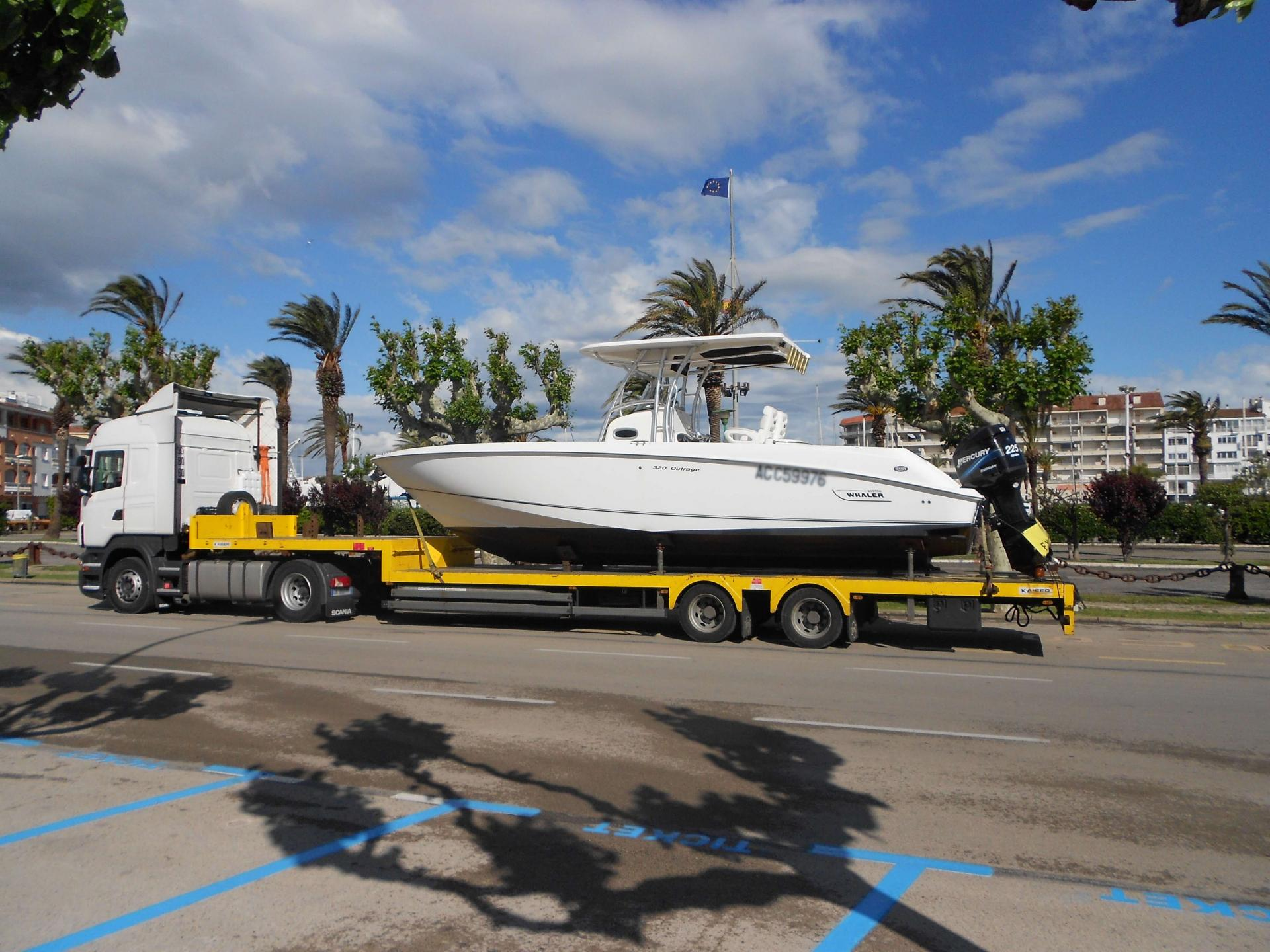 Transport bateaux espagne